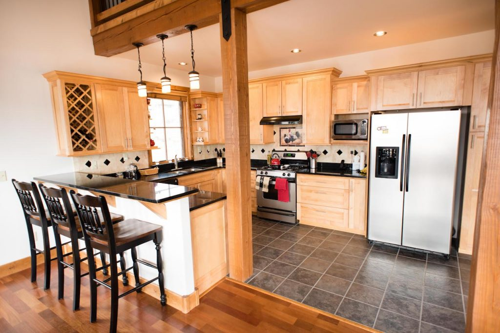 Crested Butte Vacation Rental Kitchen with Bar