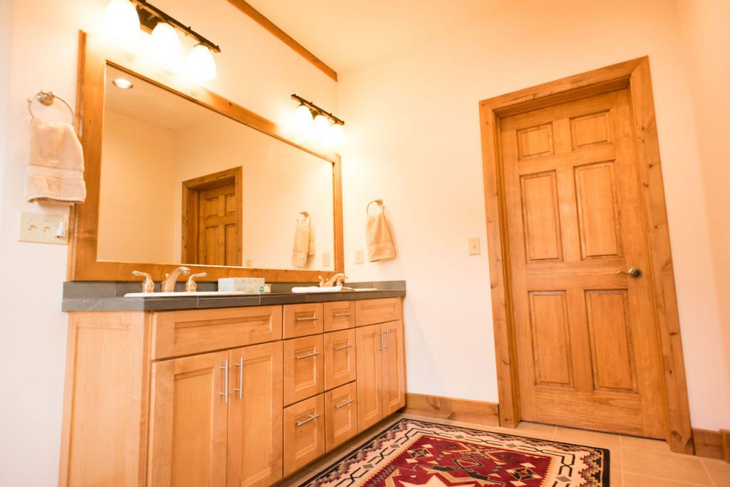 Crested Butte Vacation Rental Master bathroom view of Vanity